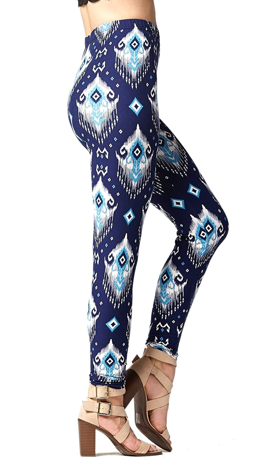 3aff045d0672dd Conceited Premium Ultra Soft High Waisted Leggings for Women - Regular and  Plus Size - Many Colors and Prints at Amazon Women's Clothing store: