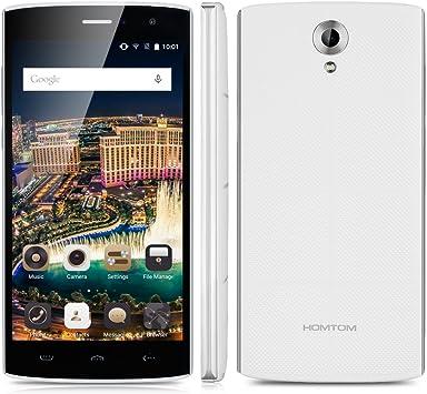 HOMTOM HT7 - Smartphone Libre Android 5.1 (Quad Core, Pantalla 5.5 ...