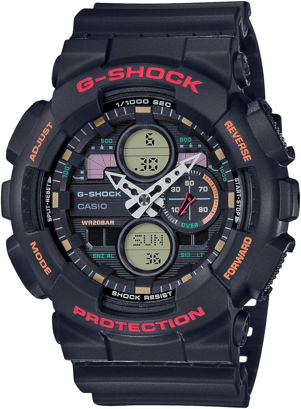 Reloj analógico de Cuarzo Digital para Hombre de Casio con Correa de Resina.