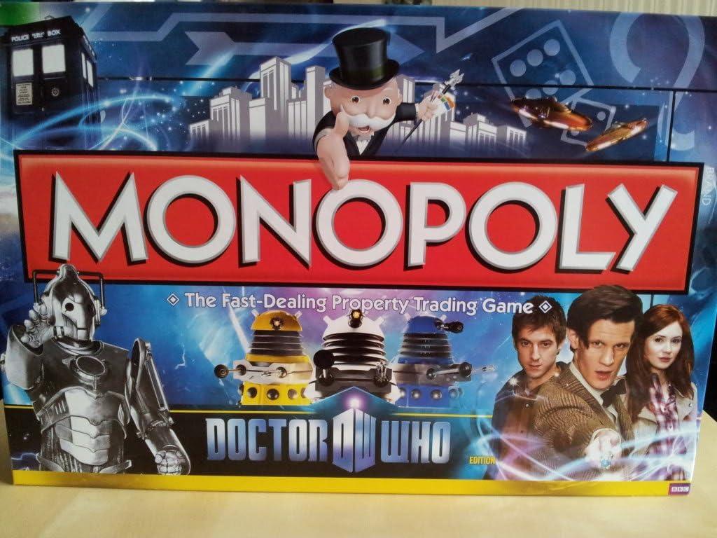 Monopoly Doctor Who Edition 2011 - Juego de mesa: Amazon.es: Juguetes y juegos