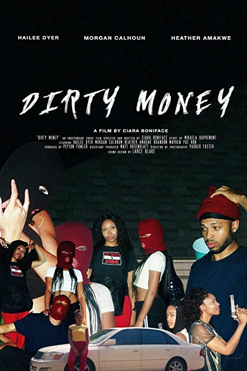 Lionbeen Dirty Money Movie Poster Cartel de la Pelicula 70 X ...