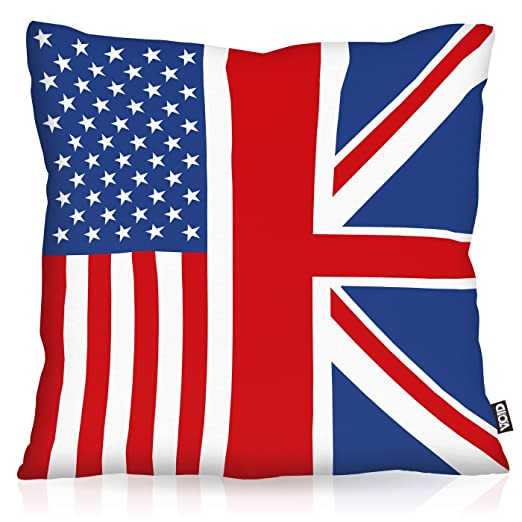 VOID Estados Unidos de América Union Jack Inglaterra Cojín ...