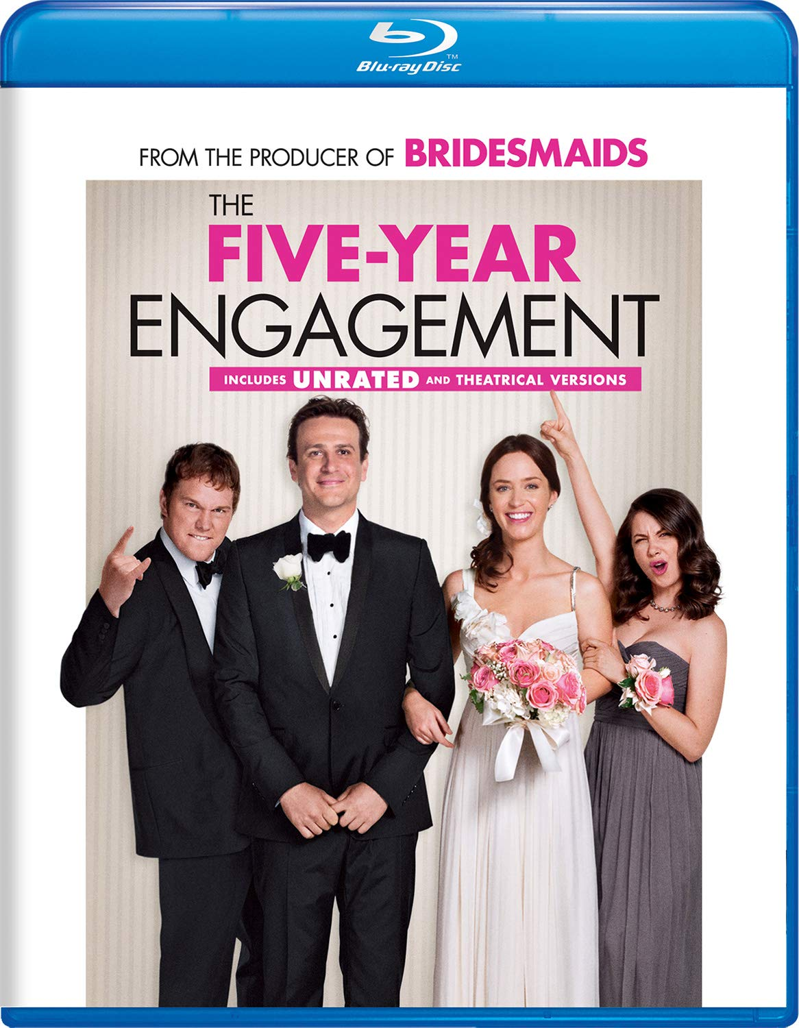 Blu-ray : The Five-year Engagement (Unrated Version)