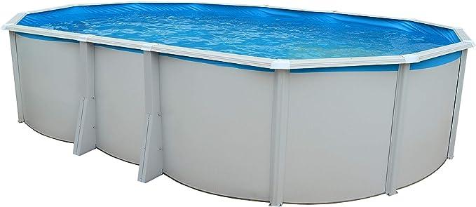 TOI - piscina IBIZA OVALADA 640x366x132 cm Filtro 6 m³/h: Amazon ...