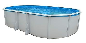 TOI - piscina IBIZA OVALADA 640x366x132 cm Filtro 6 m³/h