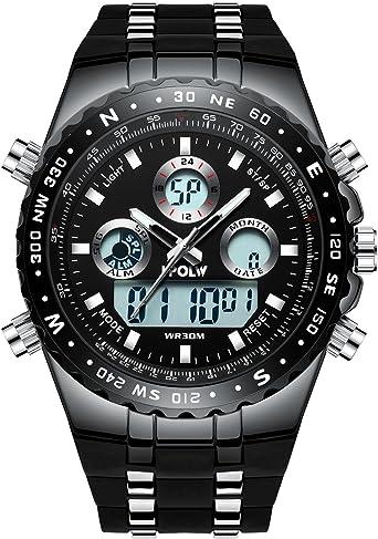 Relojes Deportivo Digital para Hombres Multifunción 30M ...
