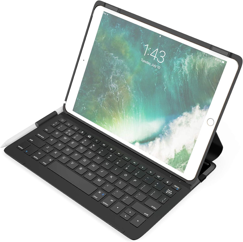 Lzth Ultra-Thin Wireless Three System 3.0 Bluetooth Keyboard for Apple IPad Air IPad Pro Bluetooth Keyboard Mini Color : Black