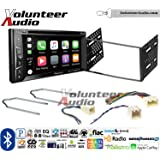 Volunteer Audio Pioneer AVH-1440NEX Double Din Radio Install Kit with Apple CarPlay, Bluetooth, HD Radio Fits 2001-2004 Escape, 2000-2004 Excursion, 1999-2004 F-150, 2001-2003 Mustang
