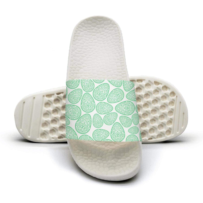 AKDJDS Pink Easter Eggs Slide Sandal Slippers for Men