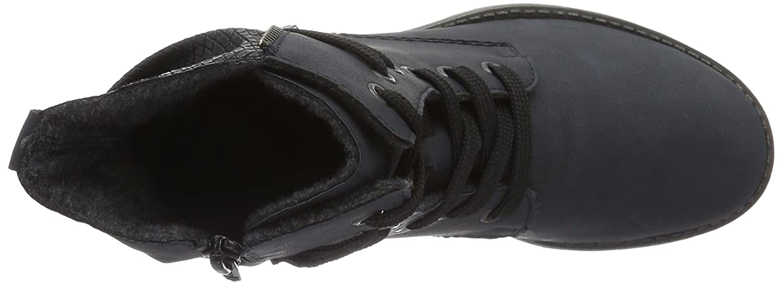 Rieker / Damen 78504 Kurzschaft Stiefel Blau (Pazifik/Ozean / Rieker 14) f9940f