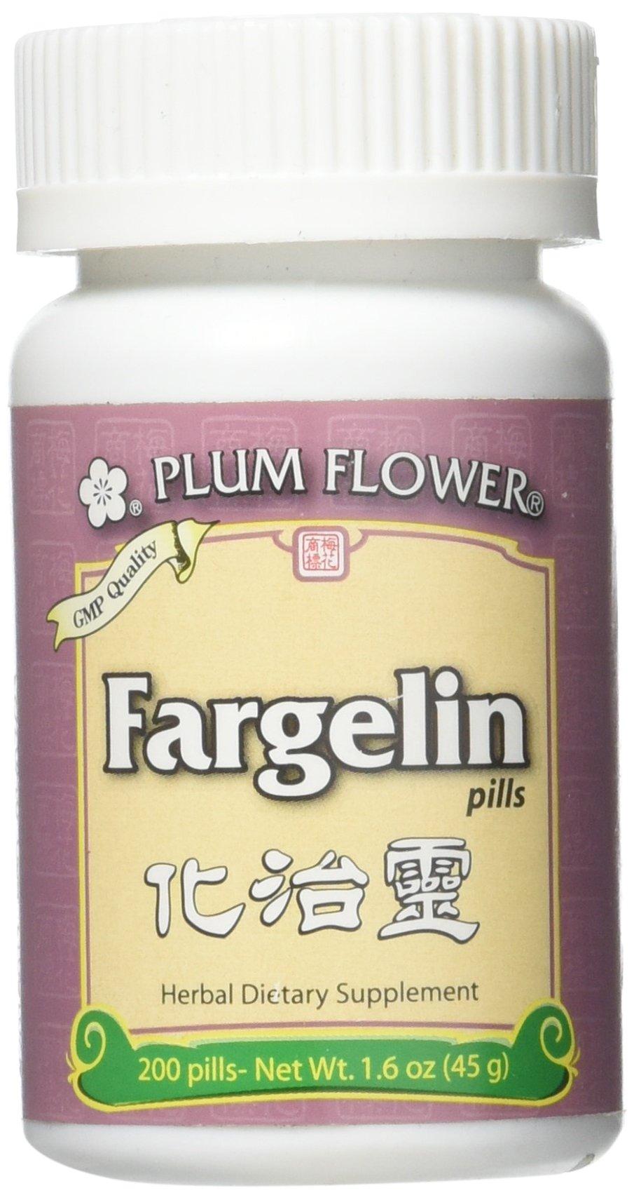 Fargelin Pills, Hua Zhi Ling Wan, 200 Pills, Plum Flower by Plum Flower