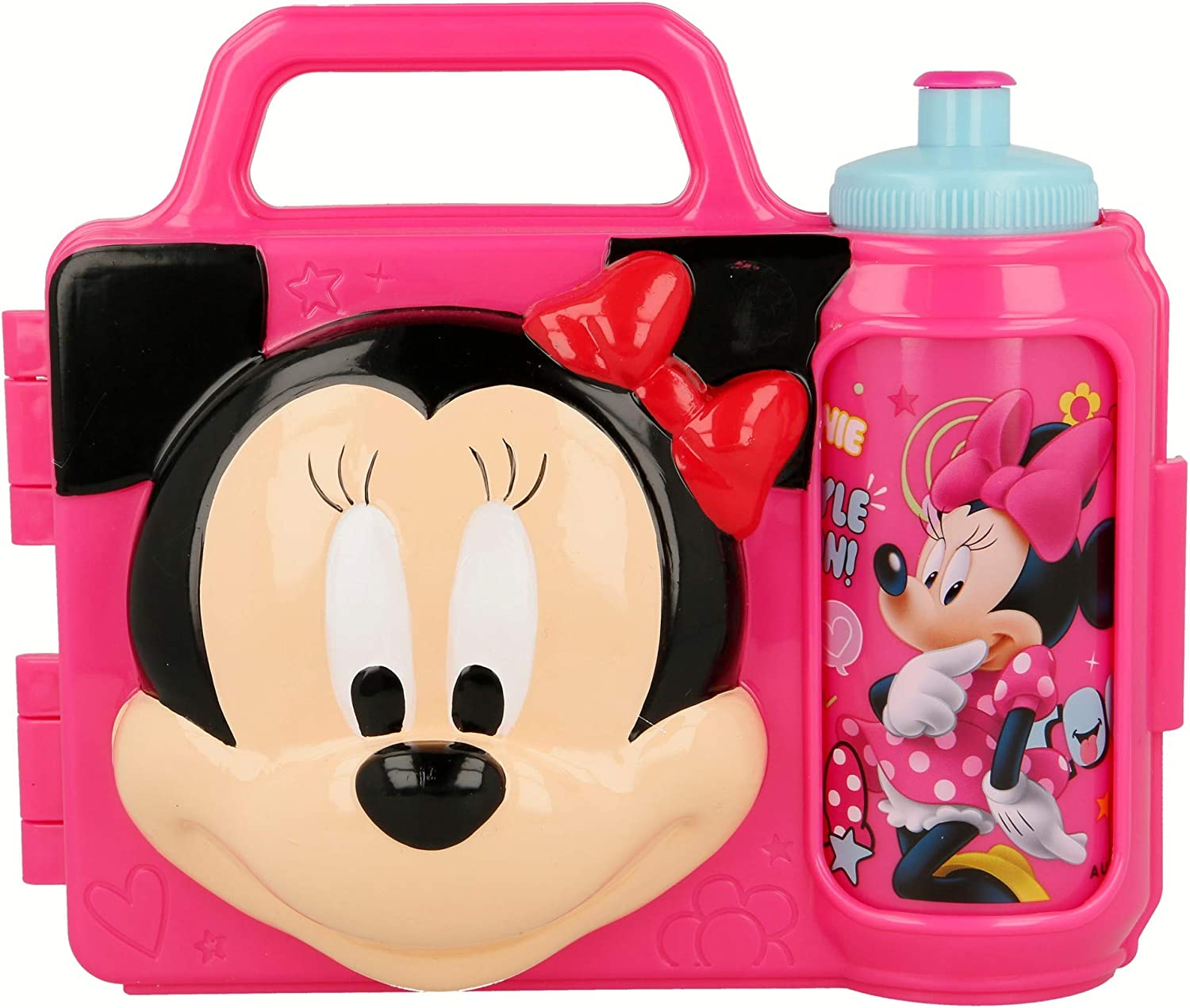 COMBO SET 3D MINNIE MOUSE - DISNEY -