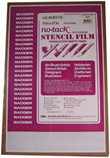 product image for Badger Air-Brush Co. 46-6 Stencil Film