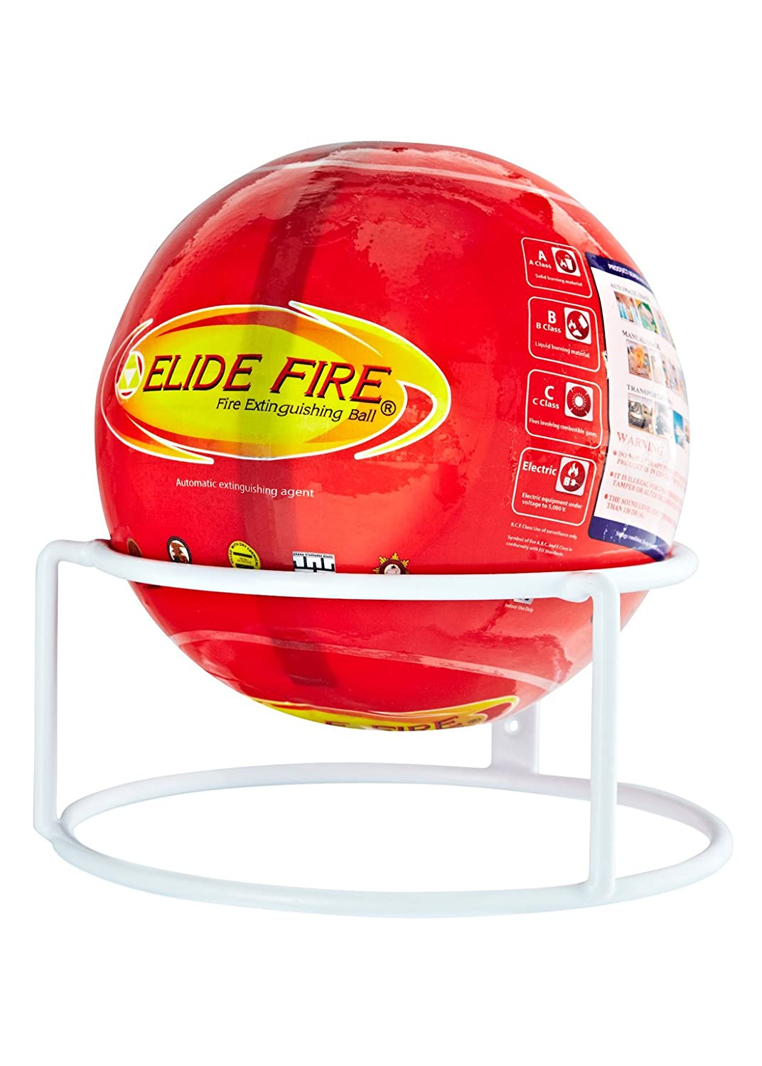 Elide Fire Ball Extinguisher Yellow Shield