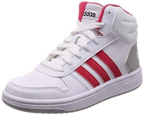 adidas Hoops Mid 2.0, Chaussures de Basketball Mixte Enfant