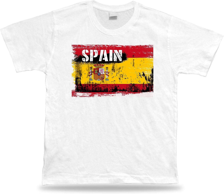 España Camiseta Bandera tee Recuerdo de Viaje tee Regalo Spain ...