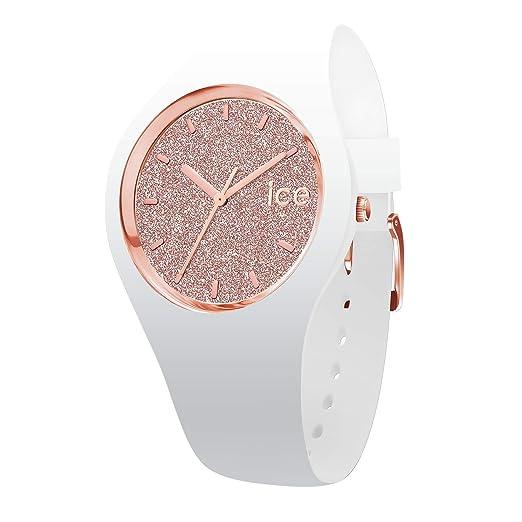 d31b06f295ac Ice-Watch Reloj Analógico para Mujer de Cuarzo con Correa en Silicona  001641  Amazon.es  Relojes
