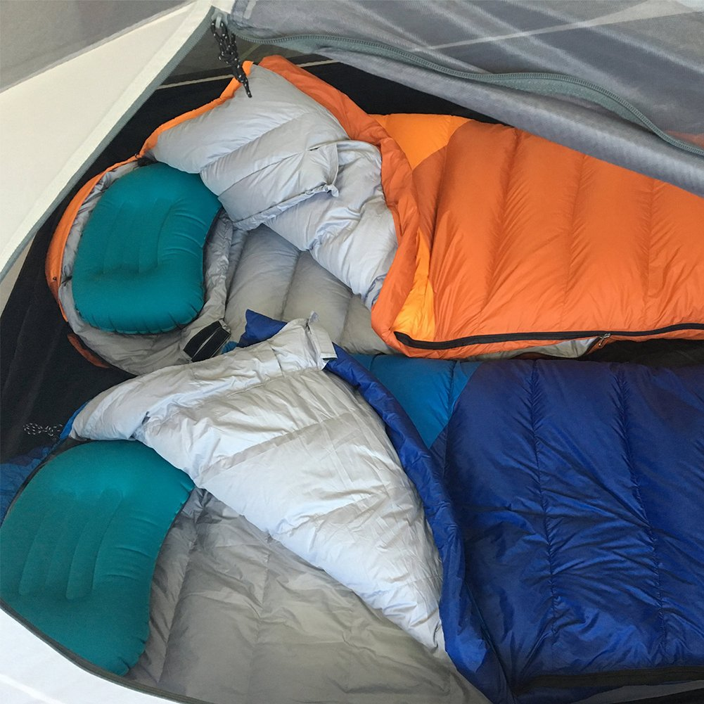 Amazon.com: LANFIND Almohada inflable para camping ...