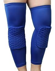iMusi Rodillera Extensible, Soporte deportivo y Protector para Rodillas, Adecuado para Hombres y Mujeres (M/Negro)