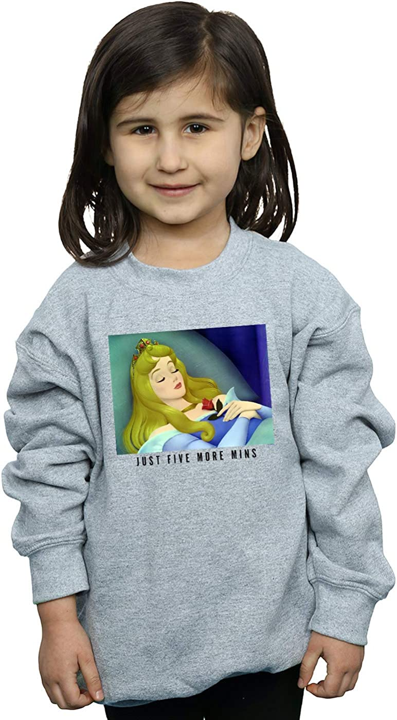 Disney Princess Girls Sleeping Beauty Five More Minutes Sweatshirt