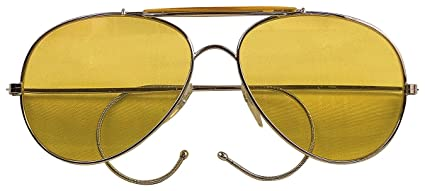 0ea448ffb8c Image Unavailable. Image not available for. Color  Rothco Aviator Air Force  Style Sunglasses ...