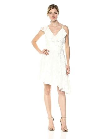 ad9c168c84d Keepsake The Label Women s Radar Sleeveless Fit   Flare Ruffle Mini Dress