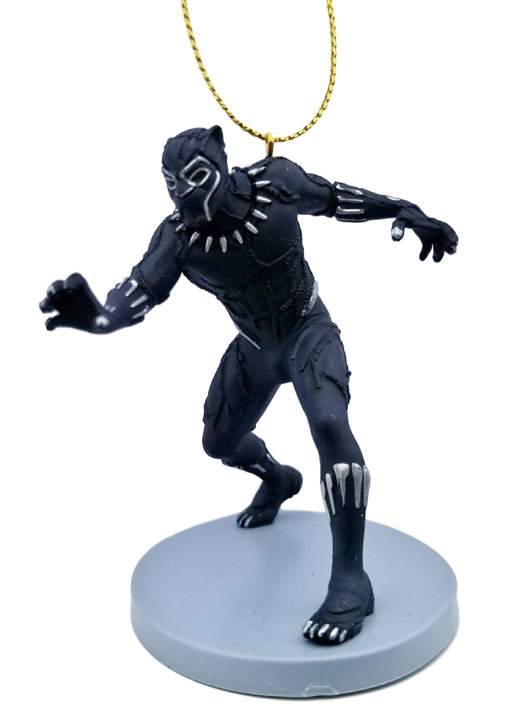 Black Panther (King T'Challa) Figurine Holiday Christmas Tree Ornament - Limited Availability - New for 2018