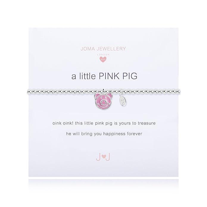 Joma Jewellery Childrens a little Pink Pig bracelet oRIjZbqh