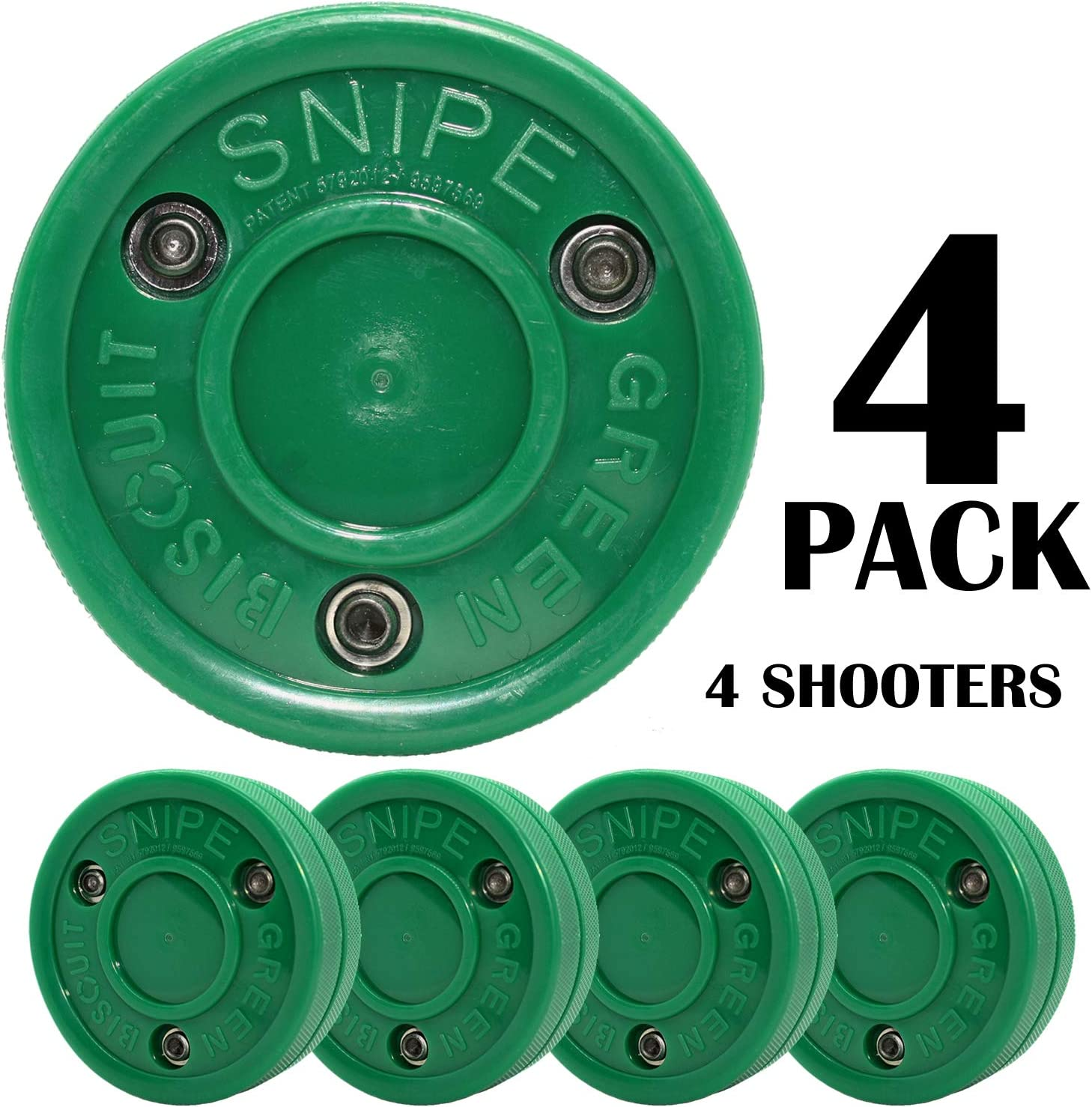 緑 Biscuit Snipe 4個パック ダークグリーン
