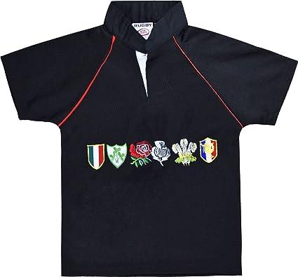 H M FASHION - Camiseta de manga corta - para niño Negro negro S-(3 ...