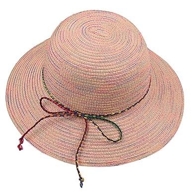Gorros para Mujer Sombrero para El Sol Playa Puntos Sombrero De ...