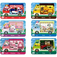 6 Pcs ACNH Amiibo Sanrio Collaboration Pack Card RV Villager Furniture for Animal Crossing New Horizons Compatible with…