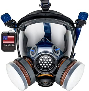 Complete Suit Trudsafe 6800 Painting Spraying Full Face Gas Chemical