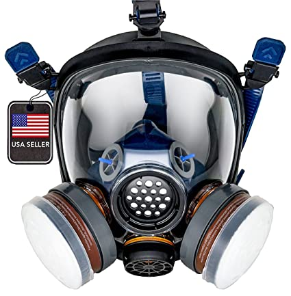 3m 6800 Gas Mask Full Face Reusable Respirator Double Activated Charcoal Air Filter Organic Vapor Respirator Chlorine Protector Back To Search Resultshome