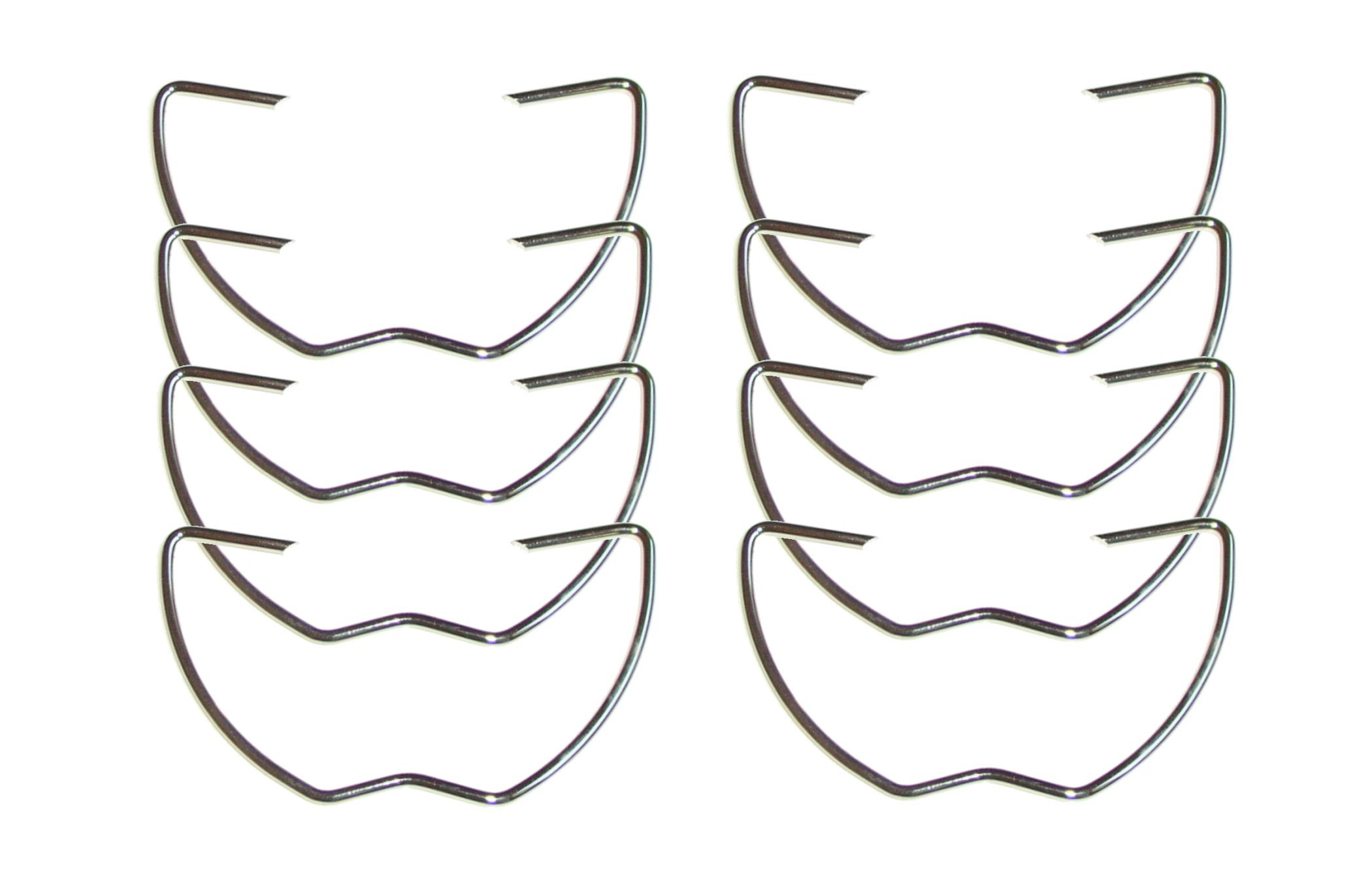 Big Horn 19678 2-3/4 Inch Spring Clamps, 8-Pack