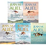 Jean M Auel 5 Books Earths Children Collection Pack Set