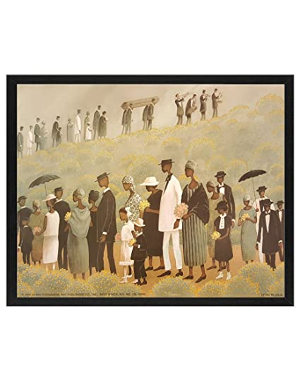 Amazon.com: Funeral Procession By T. Coleman 8x10 Art Print. African ...