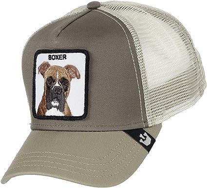 Goorin Bros Trucker Cap Boxer/Hund Brown - One-Size: Amazon.es ...