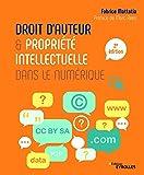 Droit d'auteur et propriété intellectuelle dans le numérique: Préface de Marc Rees