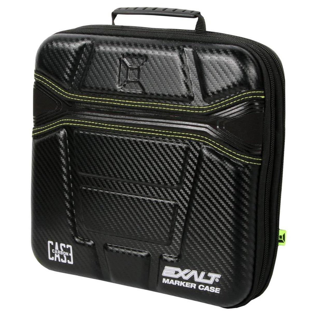 Exalt Paintball Carbon Series Marker Case / Gun Bag - Black / Lime
