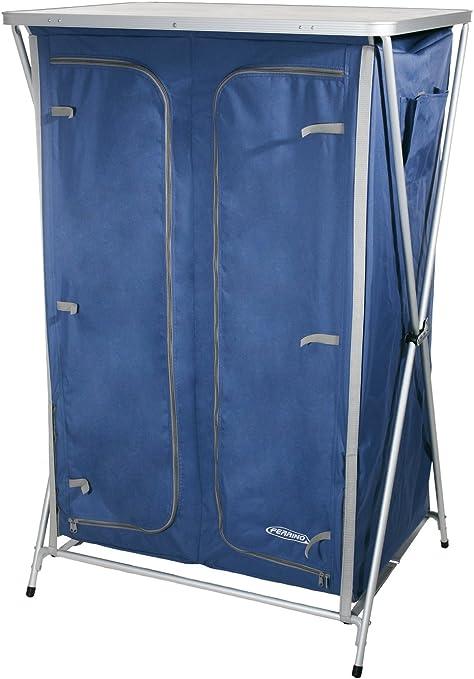 Ferrino Quick 140 Mueble Armario Plegable de Camping, Azul ...