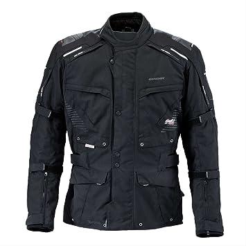 germot Toronto Hombre textil Chaqueta übergröße - Negro: Amazon.es: Coche y moto