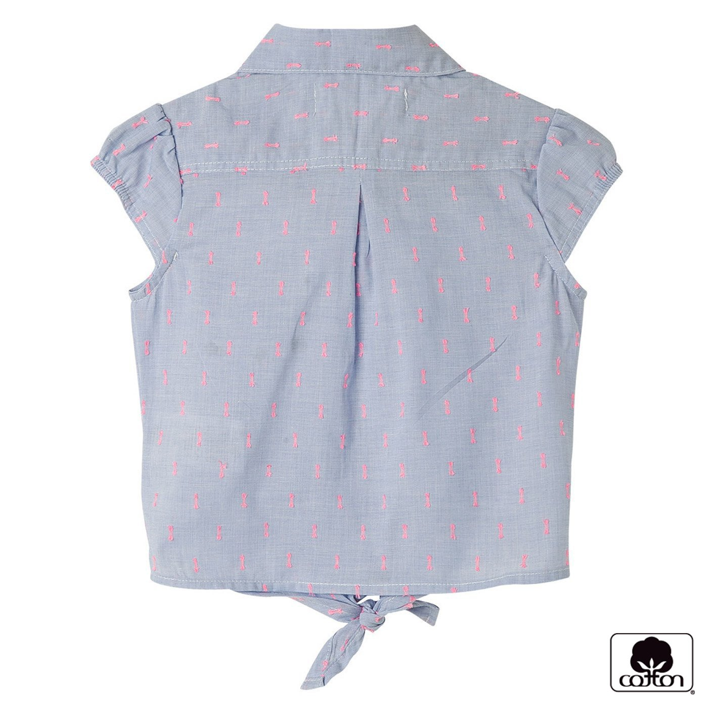 Amazon.com: OFFCORSS Toddler Girls Sleeveless Collared Shirt Blouse | Blusa Casual de Niña: Clothing