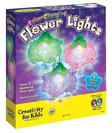 Amazoncom Creativity For Kids Color Changing Flower Lights Kids