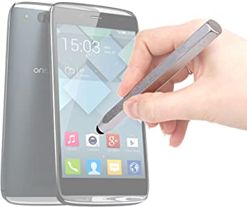 DURAGADGET - Lápiz Capacitivo de Aluminio para Alcatel One Touch ...