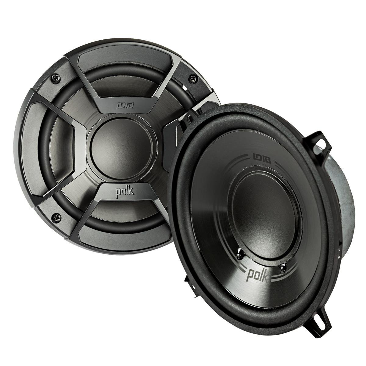 2) Polk Audio DB5252 5.25'' 300W 2 Way Car/Marine ATV Stereo Component Speakers