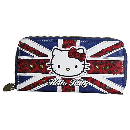 Hello Kitty England Billetero Pochette para Mujer Bolsillo
