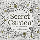 Secret Garden 2016 Wall Calendar: An Inky Treasure Hunt and 2016 Coloring Calendar