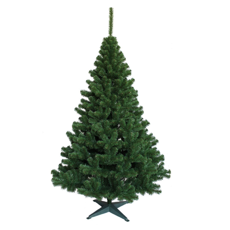 Decorwelt   Künstlicher Grün Tanne 150 cm Weihnachtsbaum Tannenbaum Christbaum Dekobaum Kunstbaum Weihnachtsdeko Zum Stecken