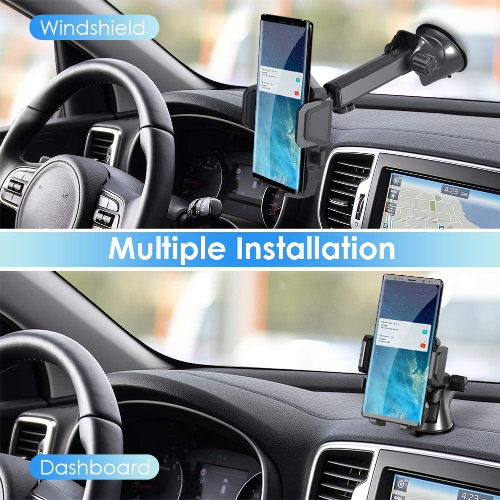 Upgraded Cell Phone Holder for Car